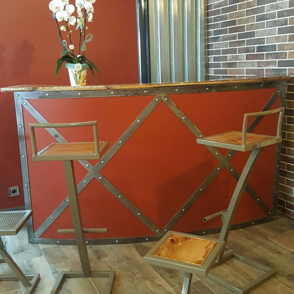 meubles industriels vintage creation