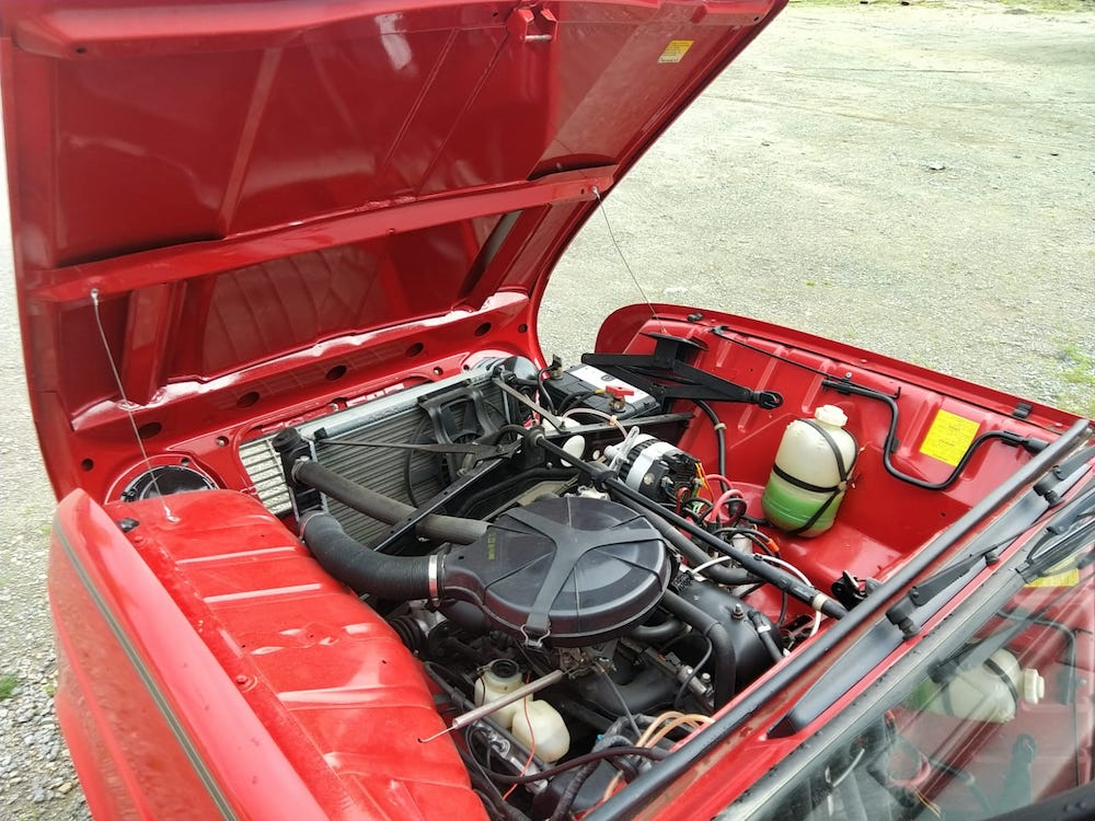 restauration R4L moteur atelier cvdc