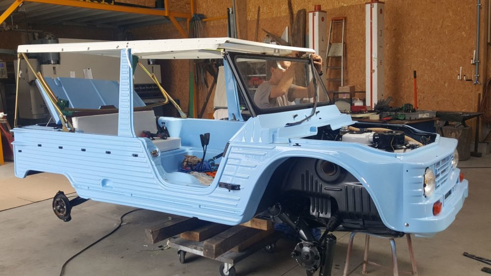 restauration citroen mehari 1971 6