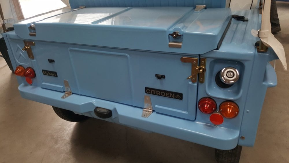 restauration citroen mehari 1971 9