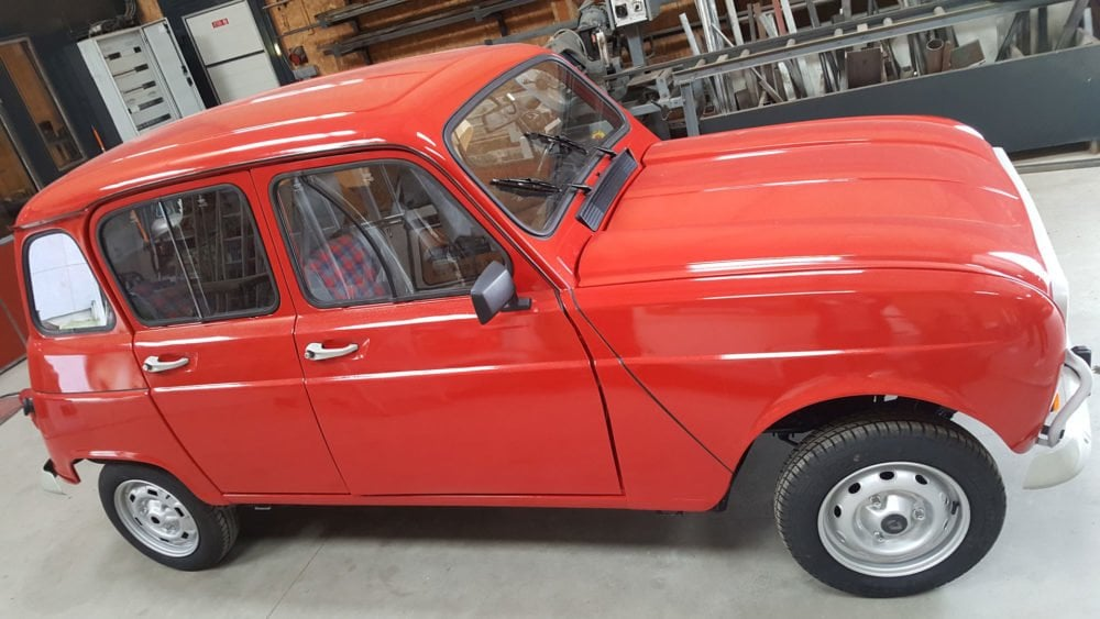 restauration renault 4l 1991 1