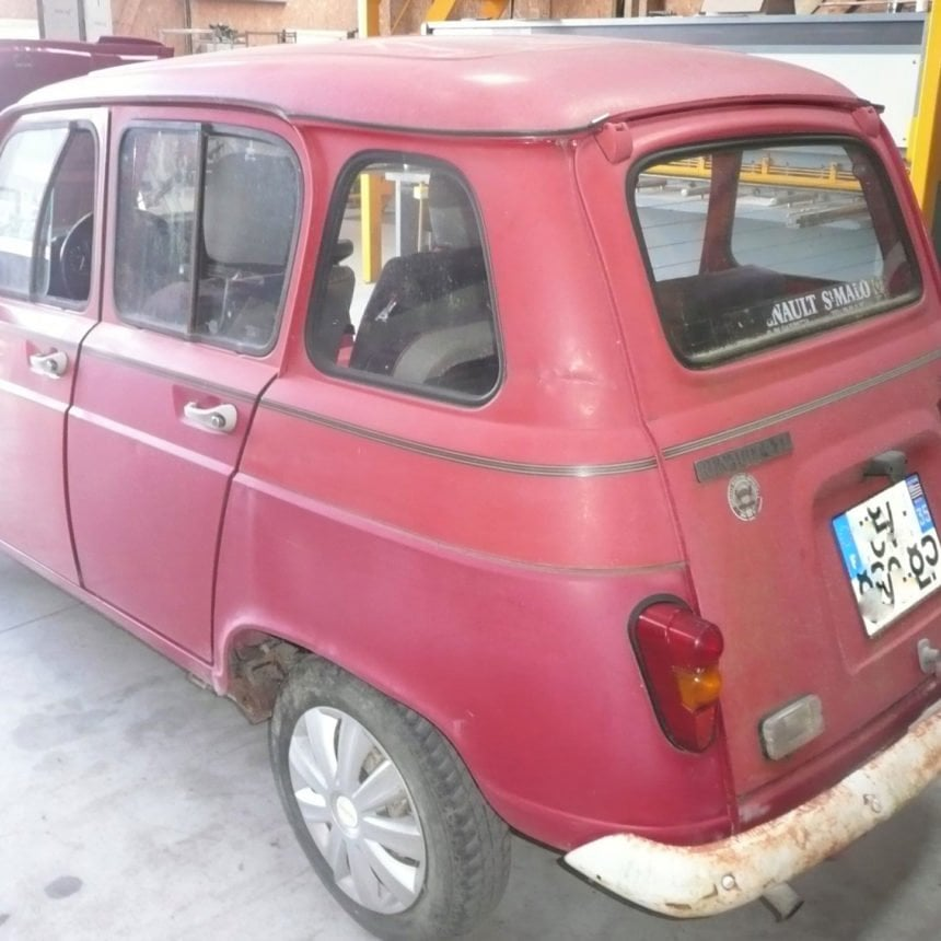 restauration renault 4l 1991 2