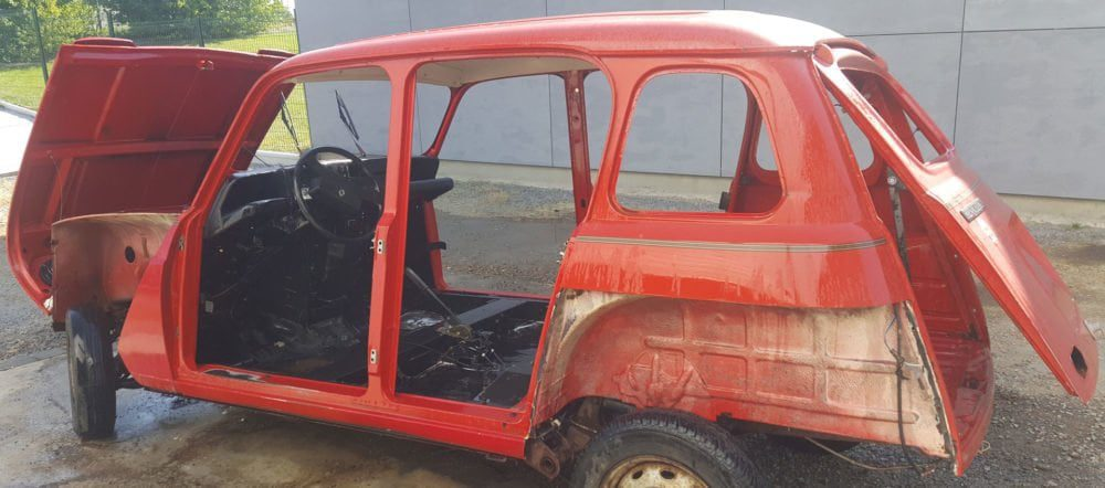 restauration renault 4l 1991 3