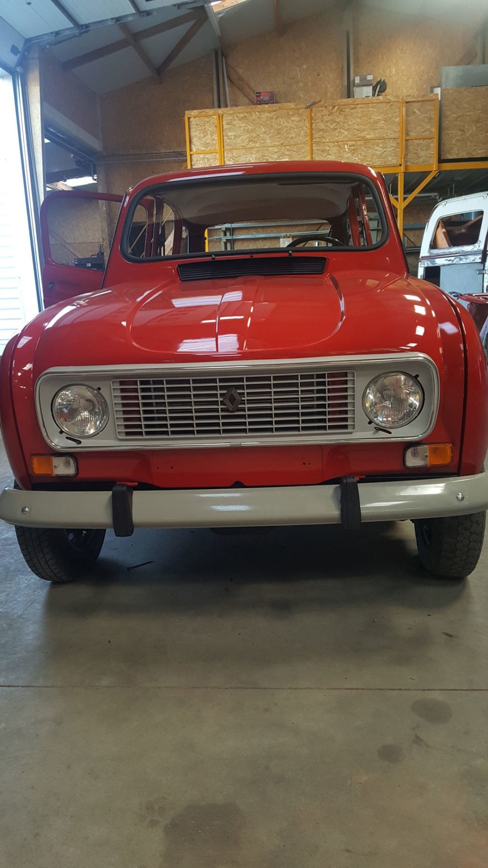 restauration renault 4l 1991 6
