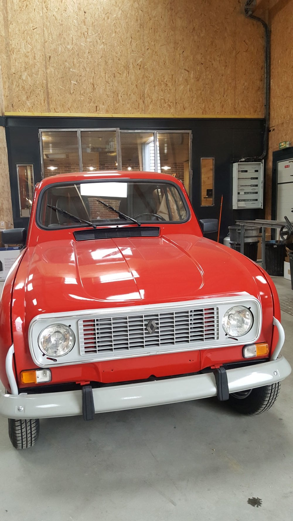 restauration renault 4l 1991 7