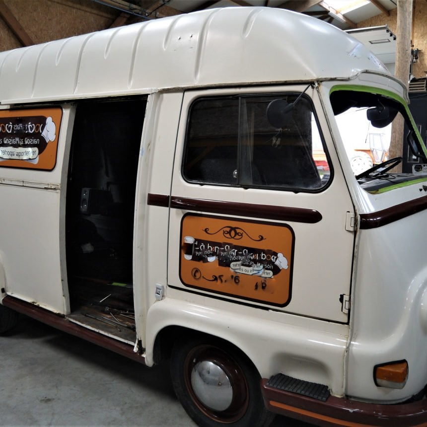 restauration renault estafette 1975 1