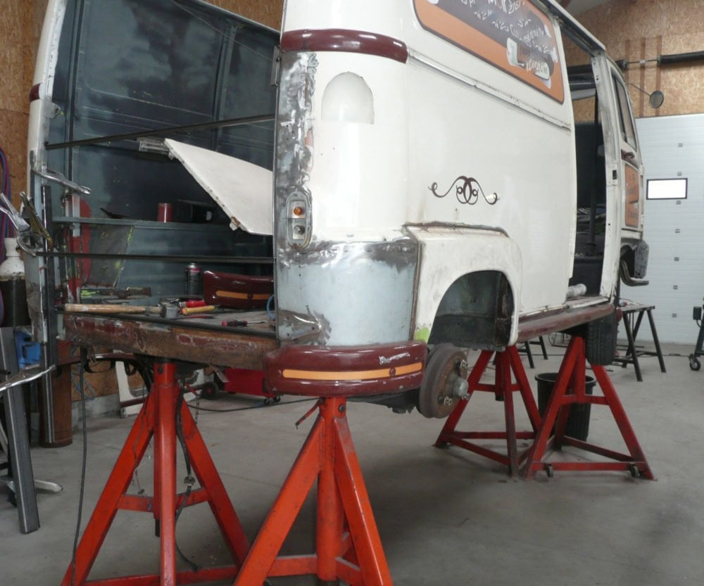 restauration renault estafette 1975 10