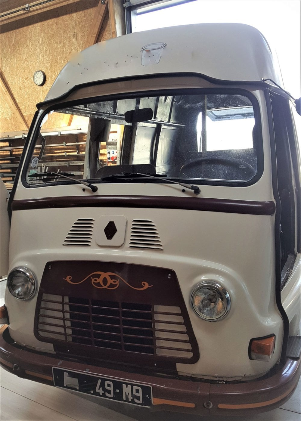 restauration renault estafette 1975 12