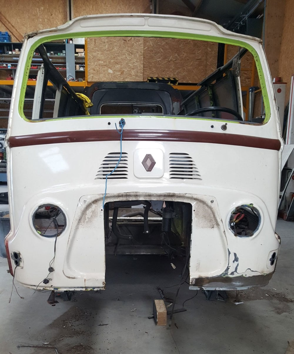 restauration renault estafette 1975 8