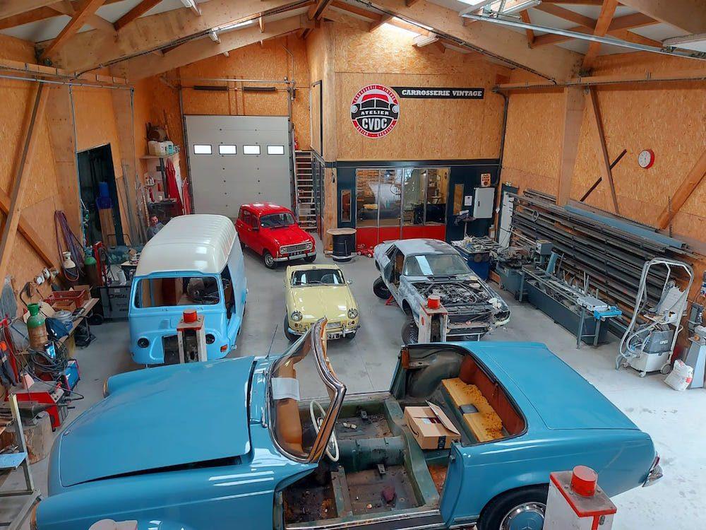 atelier restaurateur voiture