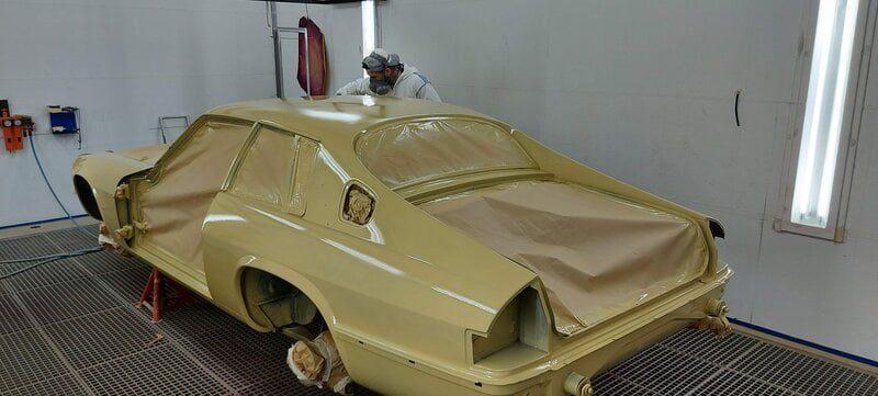 peinture beige jaguar