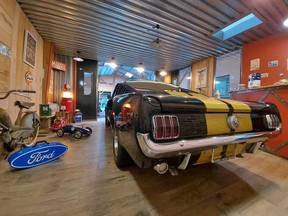 Restauration Ford Mustang Fastback 1966
