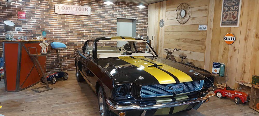 Restauration Ford Mustang Fastback bretagne