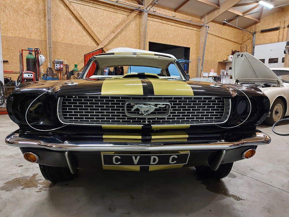 Restauration Ford Mustang Fastback face avant