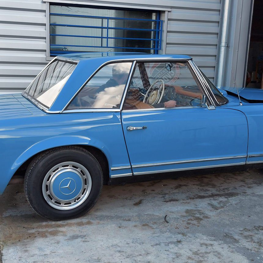 restauration mercedes benz 280 SL pagode combourg