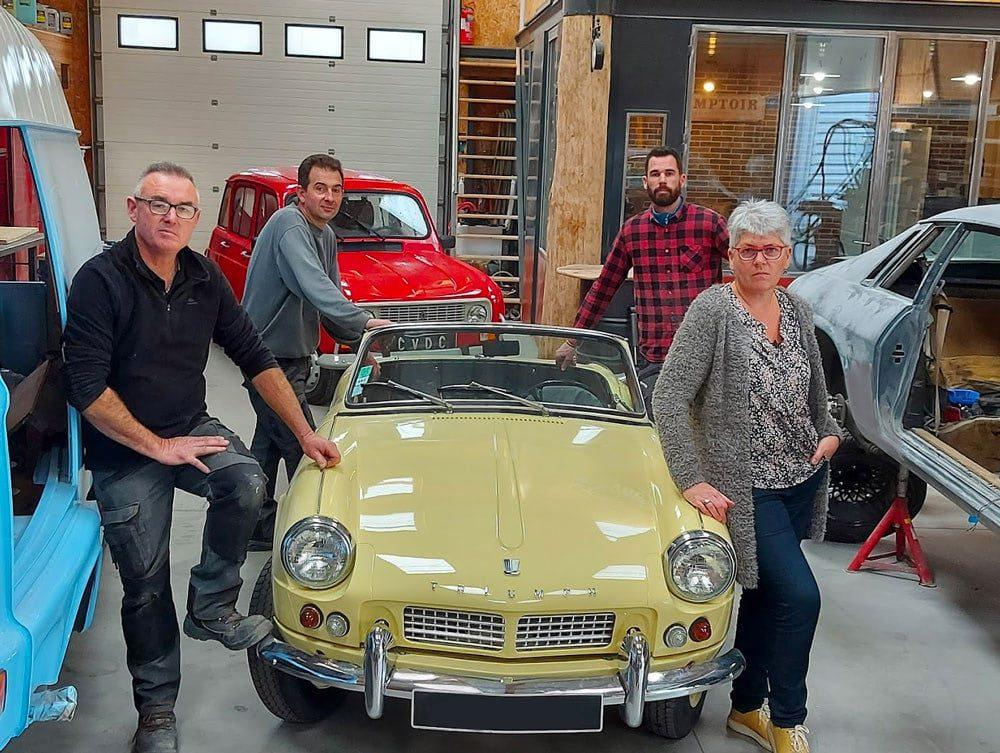 atelier cvdc combourg restauration voitures ancienne bretagne
